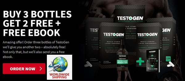 Testogen Testosterone Booster Pills For Muscle Growth